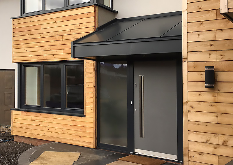 Porch cladding