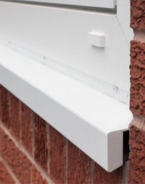 Cill-white-installed