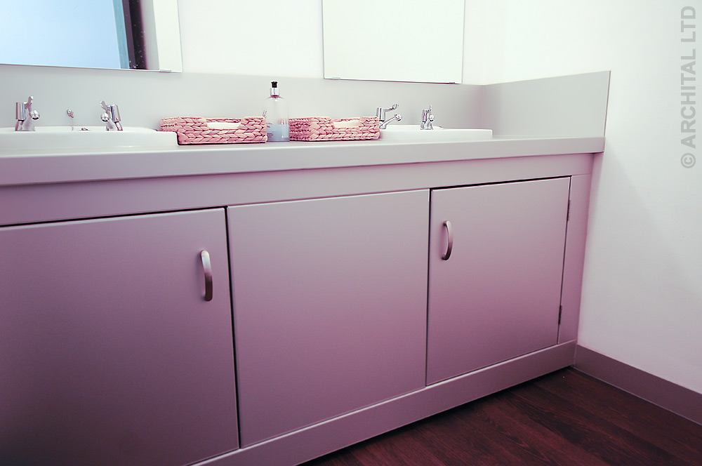 Alumium Bathroom Unit