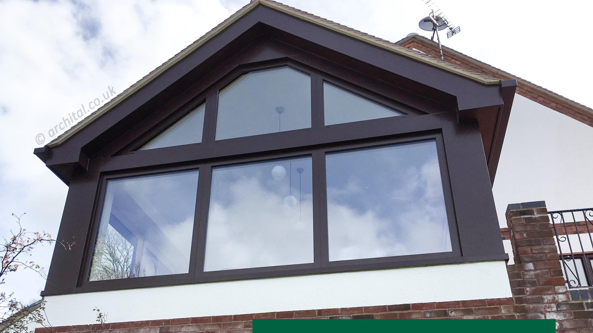 Aluminium beam cover trims and soffits